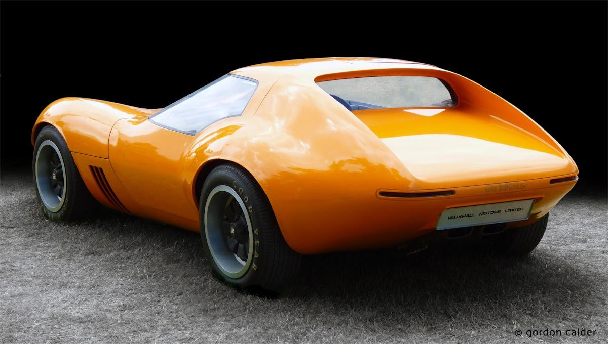 1966 vauxhall xvr concept car | gordon calder