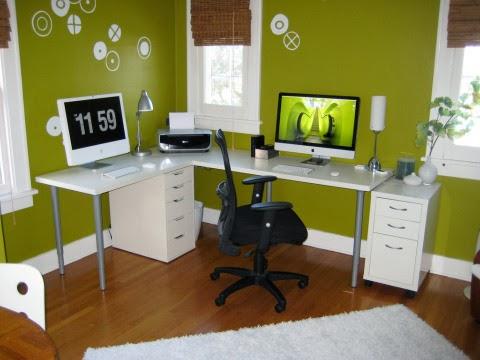 creating a home office. home office designedbarbara genda