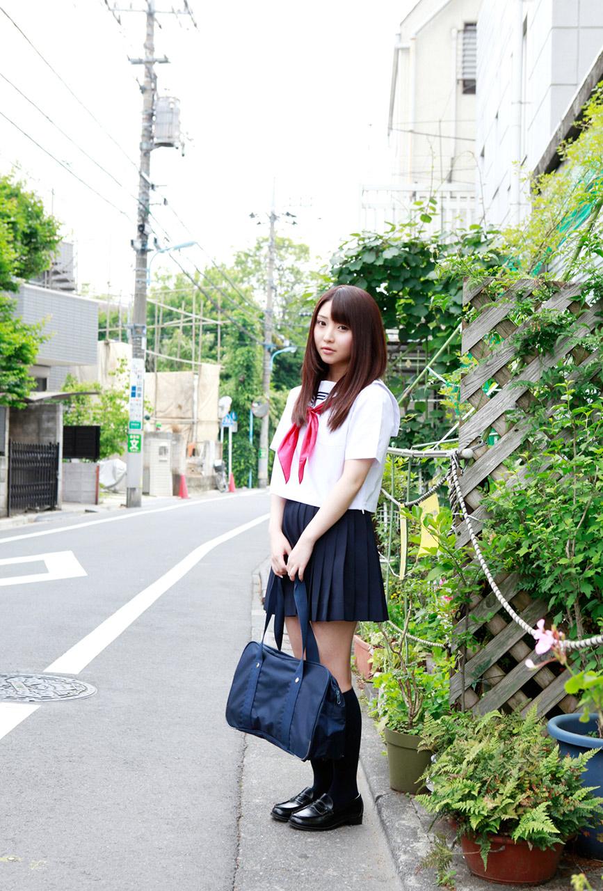 yoshiko suenaga sexy schoolgirl cosplay 05