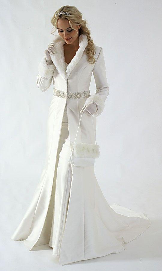 mis vestidos de novia: novias de invierno: abrigos para novia (parte i)