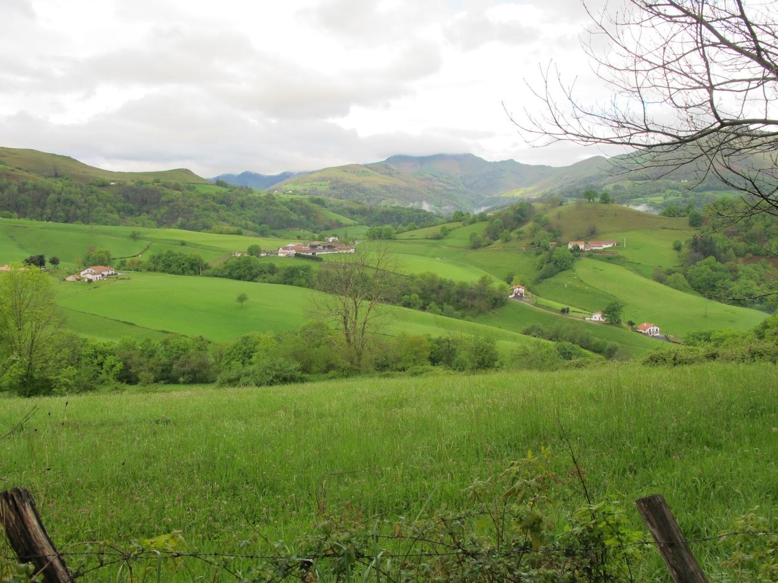 Camino de Santiago Le Puy to Finisterre spring 2013 Saint Jean