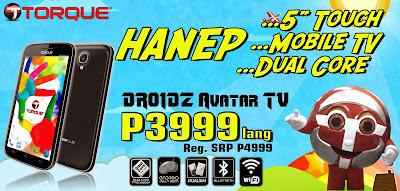 Torque Droidz Avatar TV Specs, Features, Price and Promo!