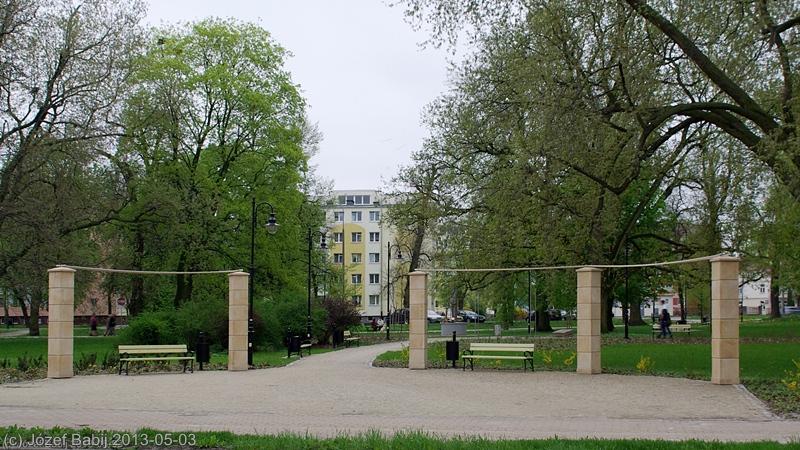 Skwer Niepodległości w Puławach