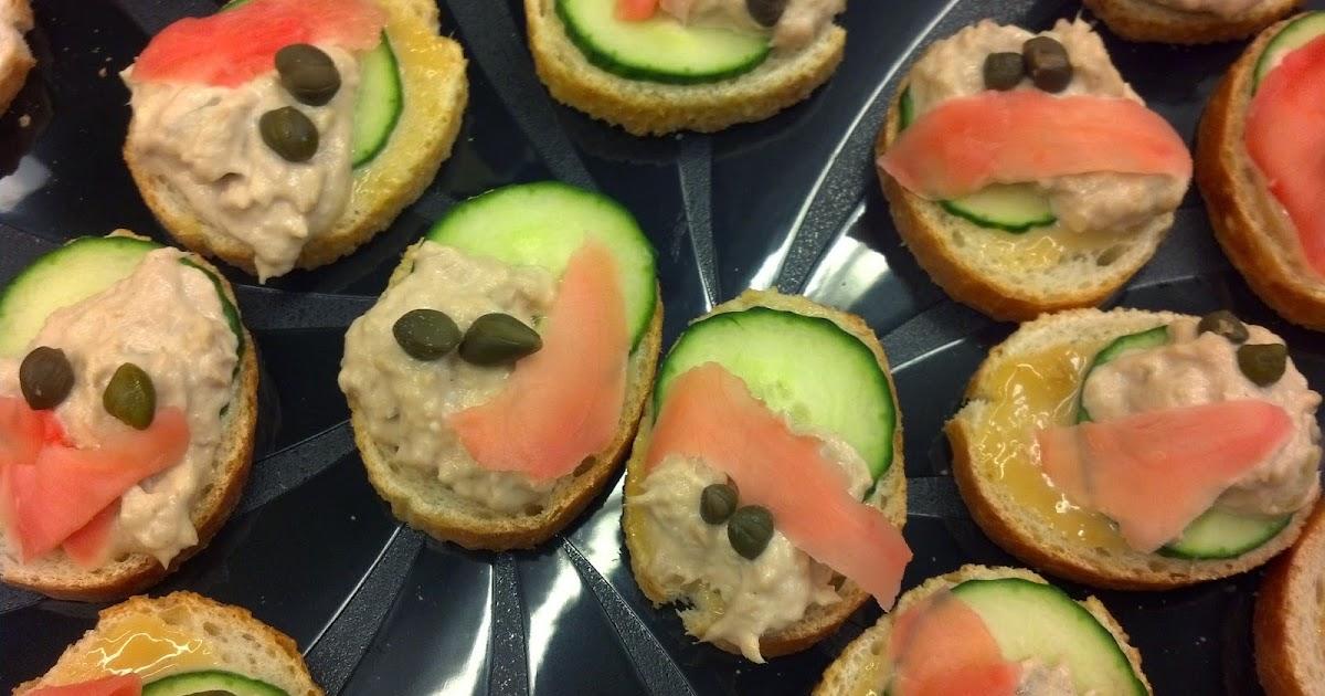 Tfm wine lady recipes ginger wasabi tuna canapes - Canape original colore ...