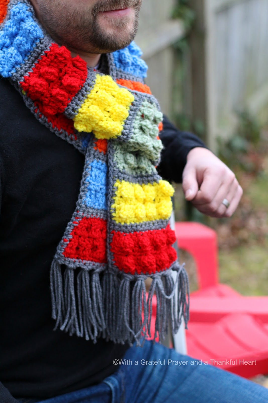 Crochet lego blocks scarf grateful prayer thankful heart crochet lego blocks scarf bankloansurffo Image collections