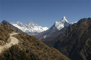 Mount Everest Nepal China