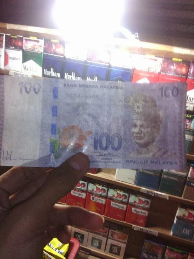 Pengedaran Wang Palsu RM100 Di Terengganu Berleluasa?!