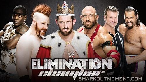 WWE Elimination Chamber Vacated Intercontinental Championship Match