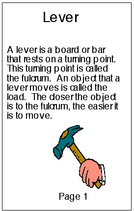 definition of a lever simple machine