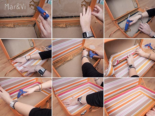 Renovar una maleta con chalk paint paso a paso