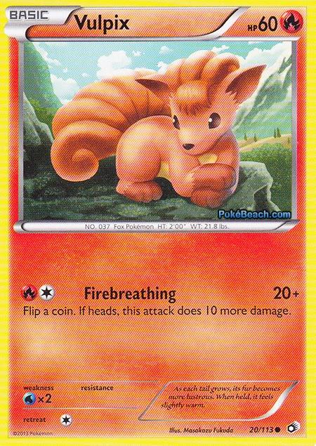 Pin Pokemon Vulpix Card on Pinterest