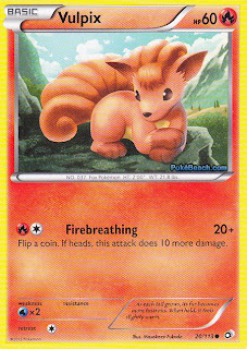 Vulpix Legendary Treasures Pokemon Card