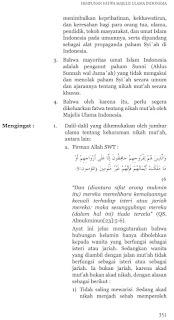 Fatwa MUI Haram Nikah Mutah