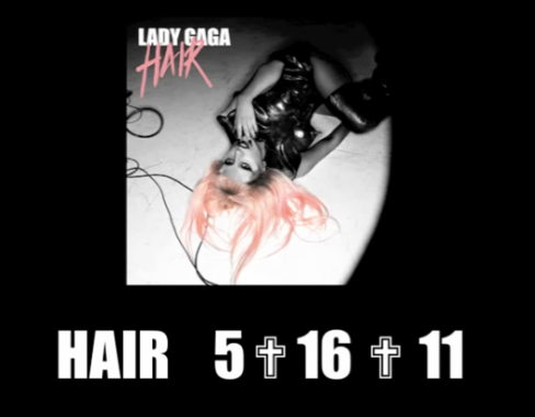 lady gaga hair single art. dresses Lady Gagas New Single