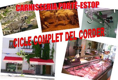 Carnisseria Porté-Estop de Vilaller (Alta Ribagorça) realitza el cicle complet del corder.