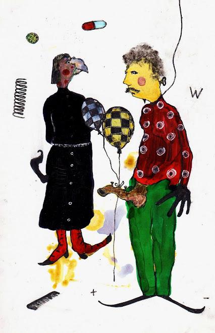 2 balloons por favor où la trompe de frédérikö l'automate   13x19 cm