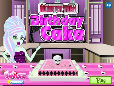 juego para hacer pasteles de las monster high pastel monster high