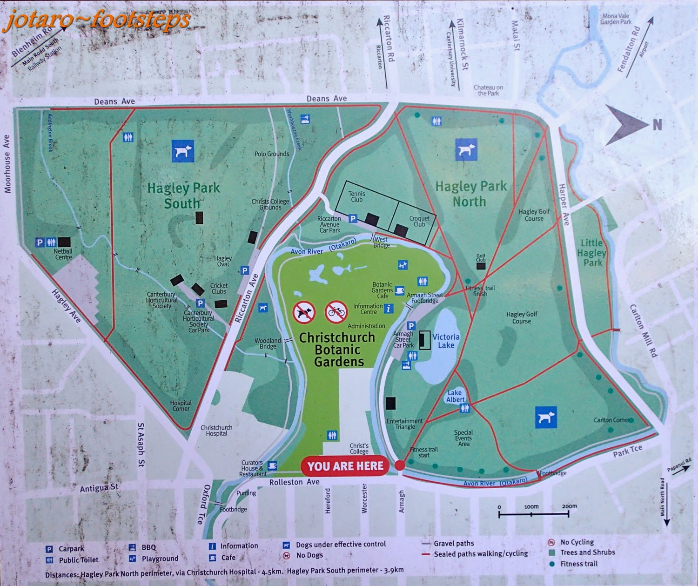 Dunedin Botanical Gardens Map Garden Ftempo