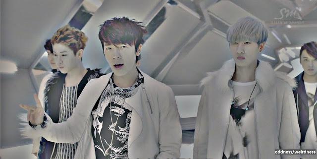 Super Junior-M releases the Break Down mv.