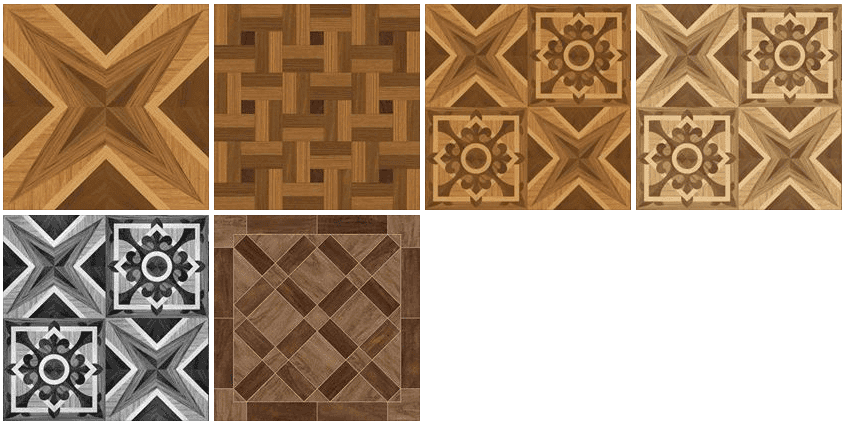 Ceramic wood looking tile