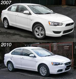Mitsubishi evo Proton inspira