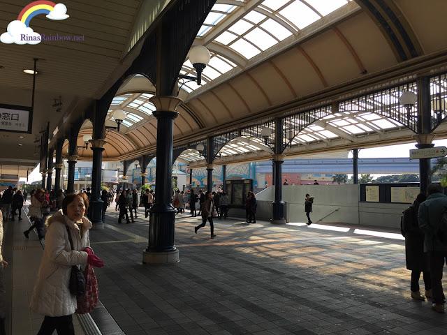 Tokyo Disneyland train station