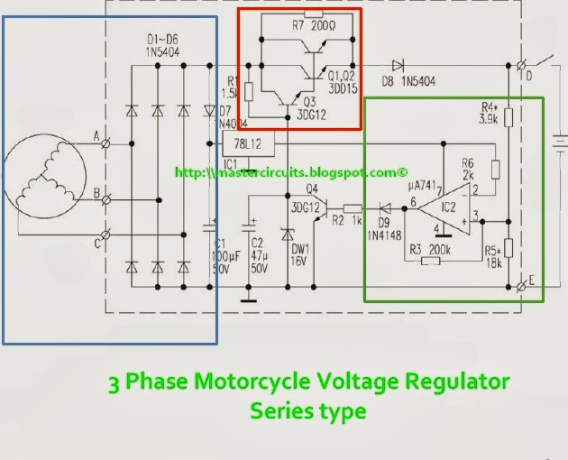 3 Phase Voltage Regulator  Series Type