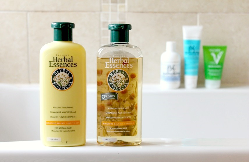 Herbal Essences Moisture Balance Shampoo and Conditioner Review
