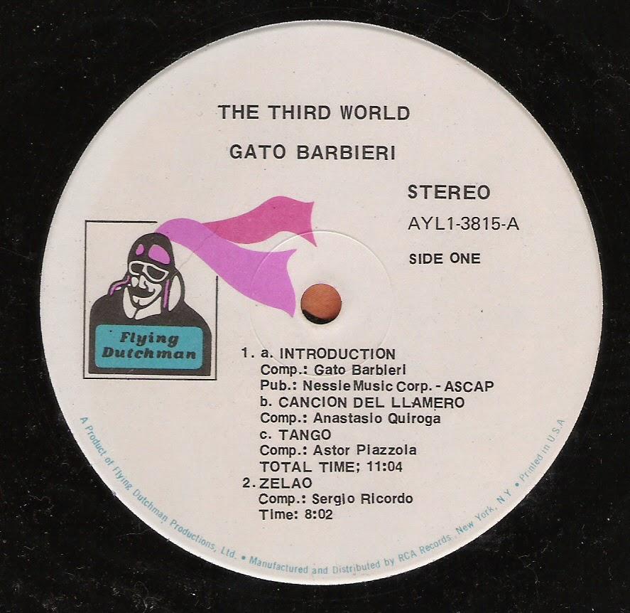 Gato Barbieri - The third world (1970)