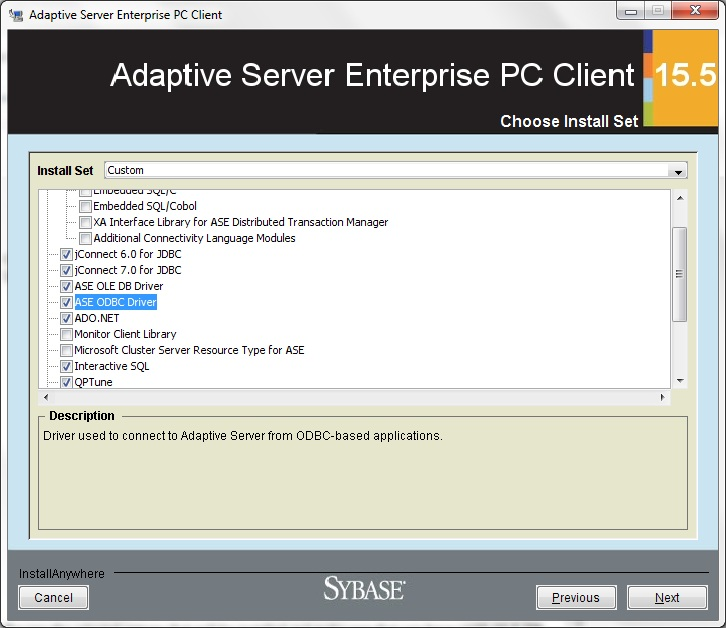 Vbnet application with sql anywhere 10 database: part 1