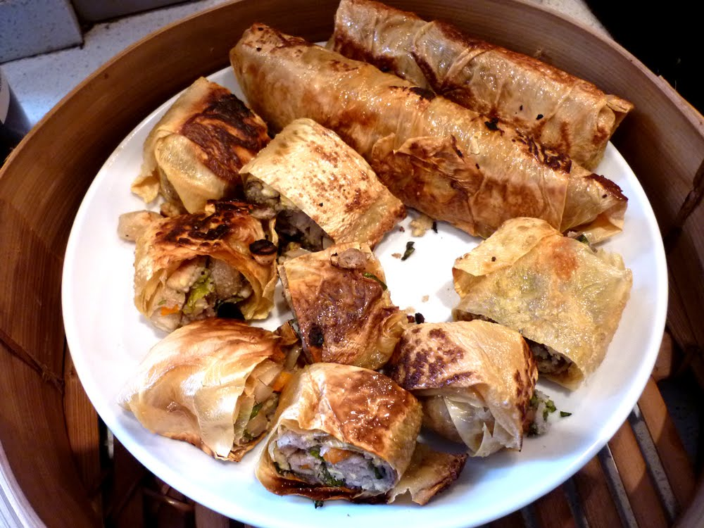 Chinese 5-spice Bean Curd Rolls | boil meets grill, romance ensues