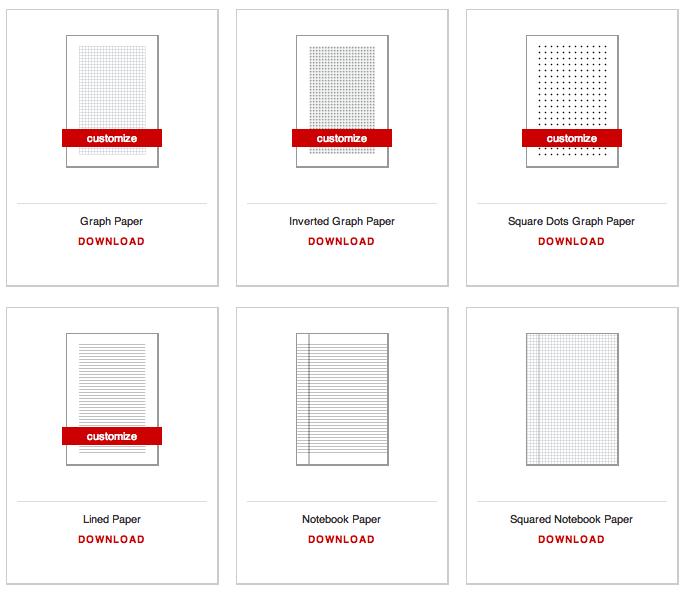 GeneratedPaper – Print College Ruled Paper