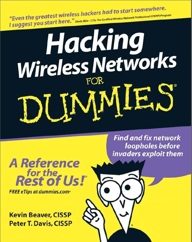 HACKING AND IPHONE TRICKS: Hacking wireless network for Dummies
