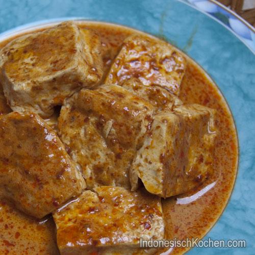 Tofu Bumbu Bali rezept
