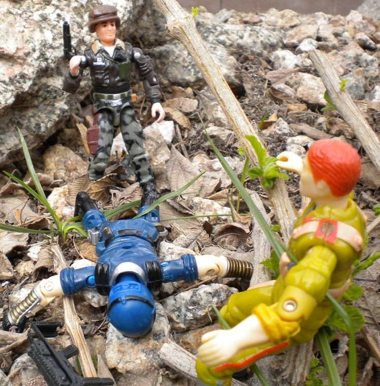 1997 General Hawk, Clayton Abernathy, 1998 Cobra Trooper, Colonel Brekhov, Red Star, Oktober Guard, Toys R Us Exclusive