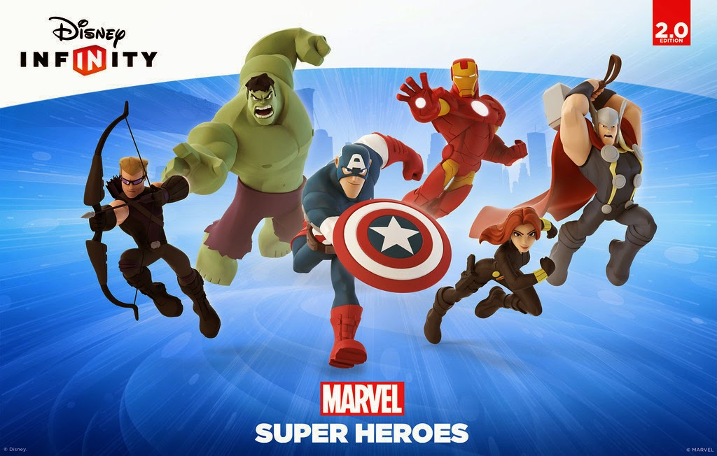 Idle Hands Disney Infinity Marvel Super Heroes