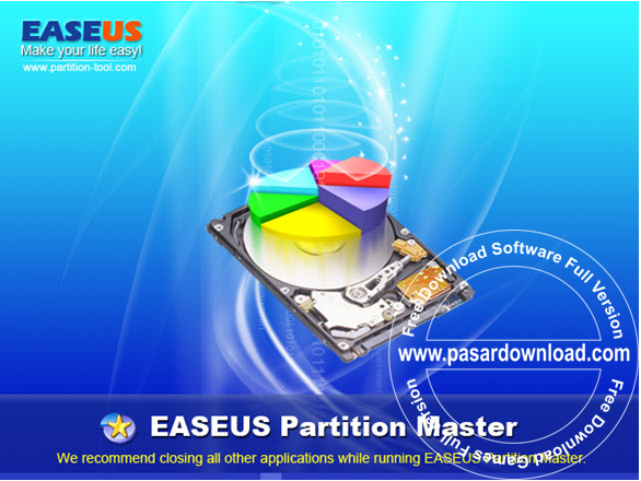 Download EaseUS Partition Master Technician Edition 10 Full Crack