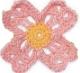 Cuatro petalos rosa