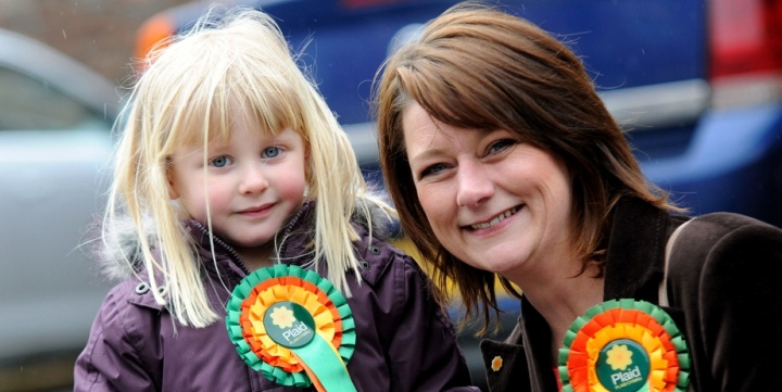 Plaid Leader Leanne Wood AM