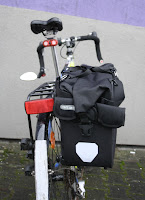 Rowerowa sakwa miejska Ortlieb Office-Bag QL3 - na bagażniku