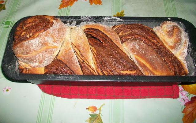 treccia (non)russa con farina di soia e di riso