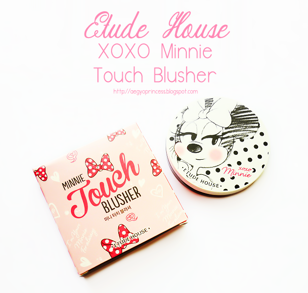 Etude House XOXO Minnie Touch Blusher Review