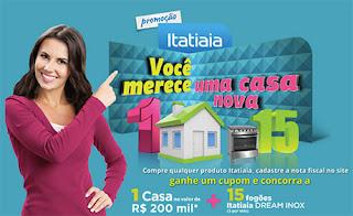 Promoção Itatiaia 2015 Você Merece Uma Casa Nova