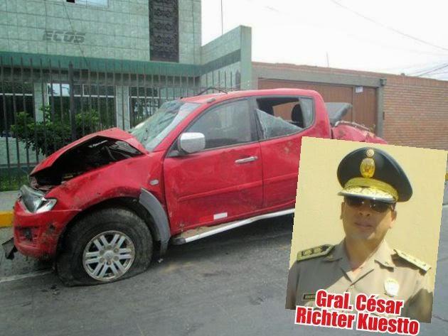 """Jefe de División Lima-Norte: """"El conductor se dio a la fuga, ya se encuentra en otro panorama"""""""