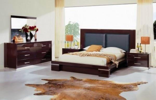Tête de lit en cuir noire