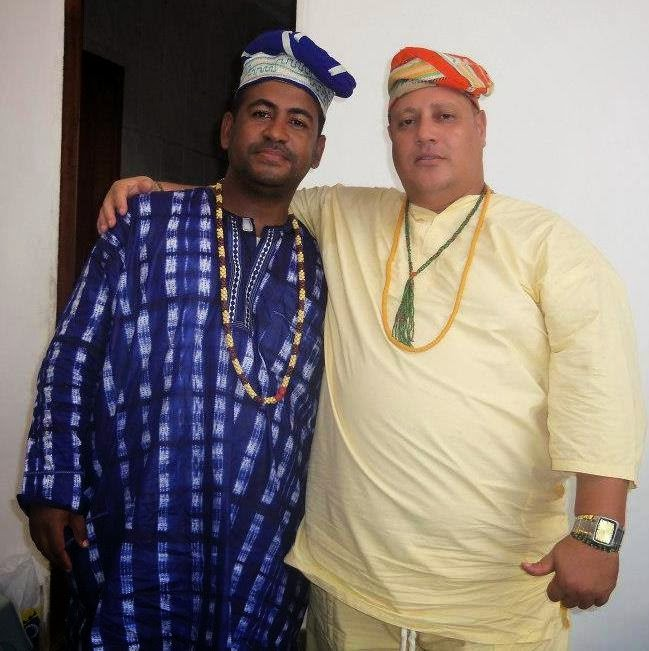 Eu Robson e Meu irmão Mobá Tainã