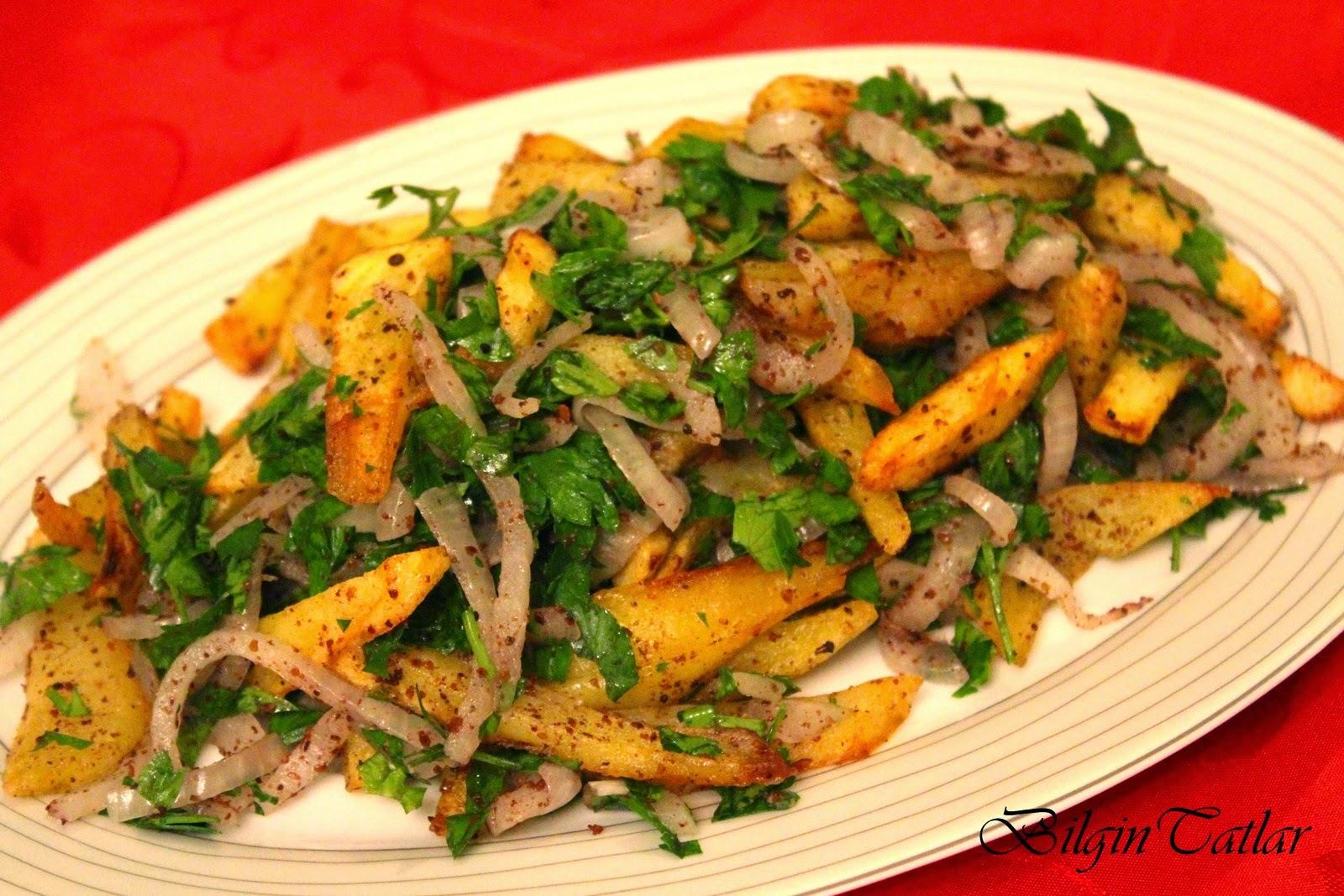 patates piyazı