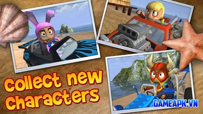 Beach Buggy Blitz v1.3.12 Mod (Unlimited Coins) cho Android