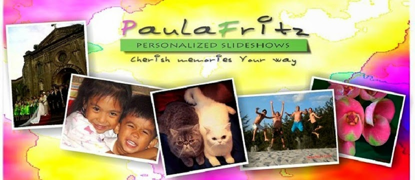 PaulaFritz Personalized Slideshows