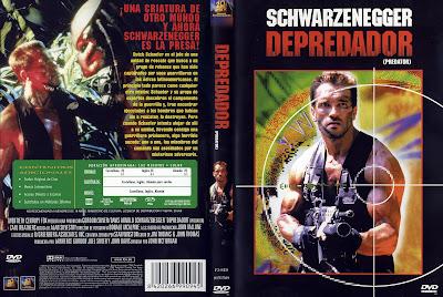 Cover, carátula, dvd: Depredador | 1987 | Predator
